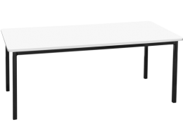 Melamine Rectangular Table: 900×900mm
