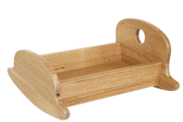 Hardwood Rocking Cradle