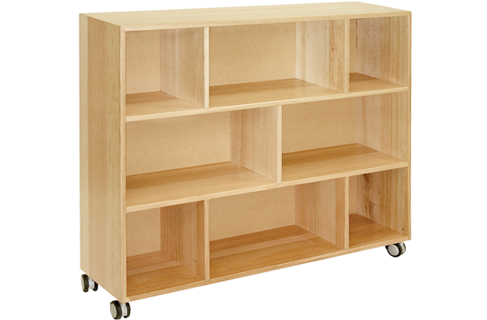 Display Cupboard with Shelf Separators