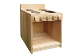 Hardwood Toddler Stove HW2023