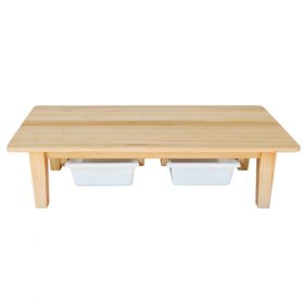 Vic Ash Low Wooden Table