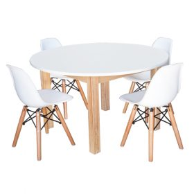 Combination Table and Chair Set