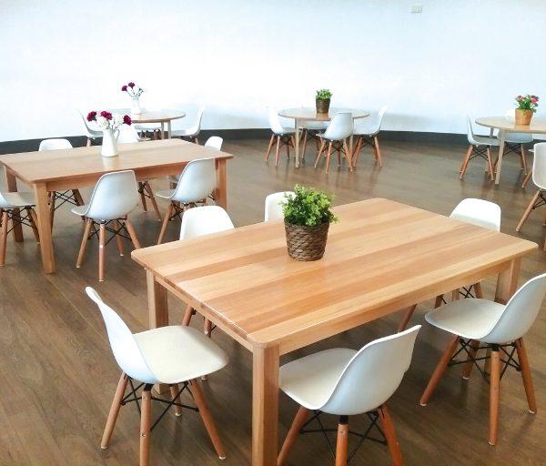 Vic Ash Hardwood Table 2