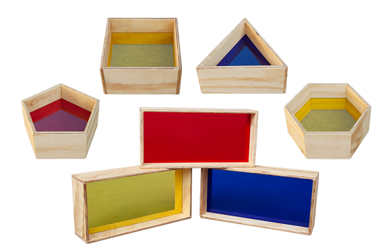 Colour Blocks and Shapes Set