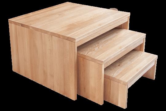 Nesting Tables Oak