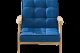 nordic armchair cobalt