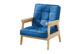 Cobalt Nordic Child Armchair