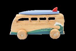 Wooden Toy Bumper Van