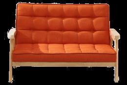 Nordic Orange Sofa