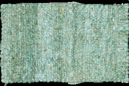 green durrie mat