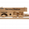 Wooden Service Station Toy