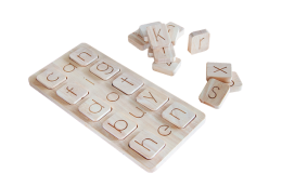 Word Kit Wooden Toy