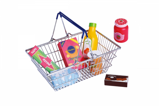 Shopper Basket Learn and play toy