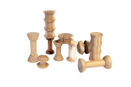 Wooden Spools Learn and Play