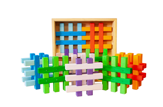 colour gird blocks