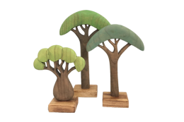 african coloured trees