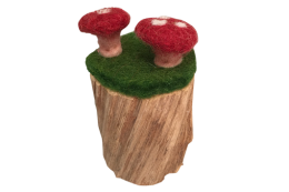 natural toadstool