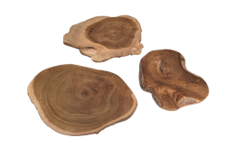 wood scrape slices