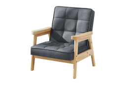Grey Nordic Child Armchair