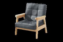 Grey Nordic Child Armchair
