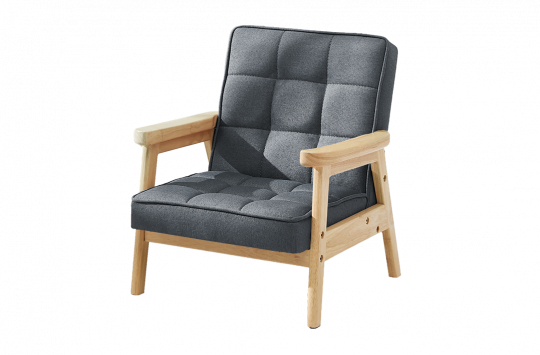 grey nordic chair