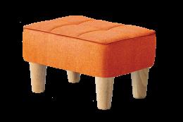 nordic stool orange