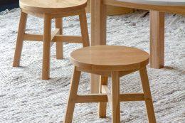 oak hardwood kids wood chair