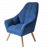 Navy Nursing Chair