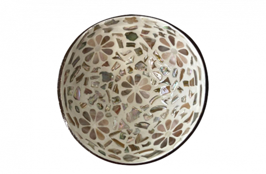 Flower-Coconut-Bowl