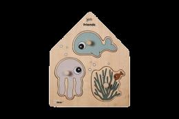 children's wooden puzzle