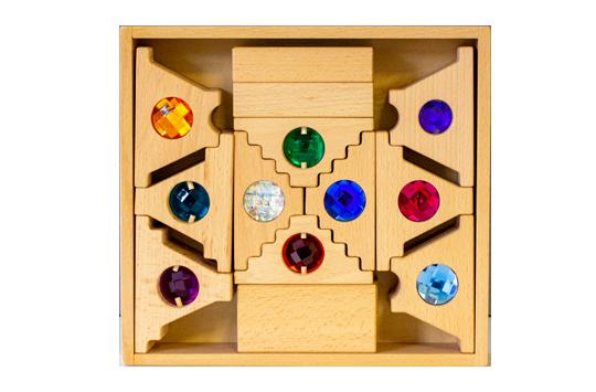 Gables Mixed Wooden Blocks / 24pc