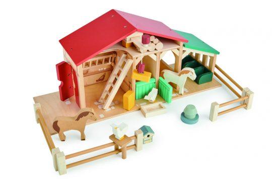 Wooden Toys Farm Set
