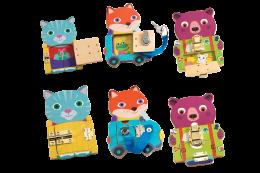 Locks Wooden Toy Set