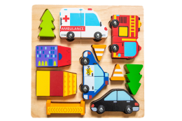 Vehicle Puzzle Magnets