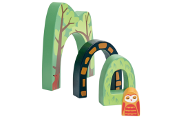 Forest Tunnels Wooden Toys