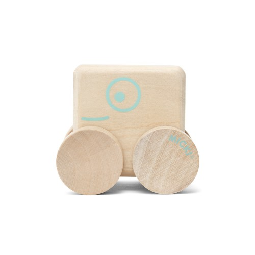 square wooden car