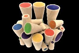 Educational Toys Rainbow Totems